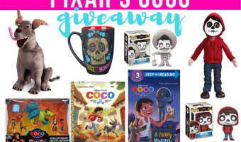Enter to win the Pixar's Coco Prize Pack Giveaway!! (Ends 12/1)