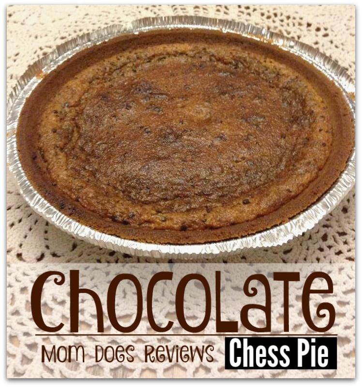 Chocolate Chess Pie #ChristmasSweets