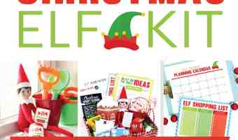 Elf on the Shelf Printables Kit only $7.97!!