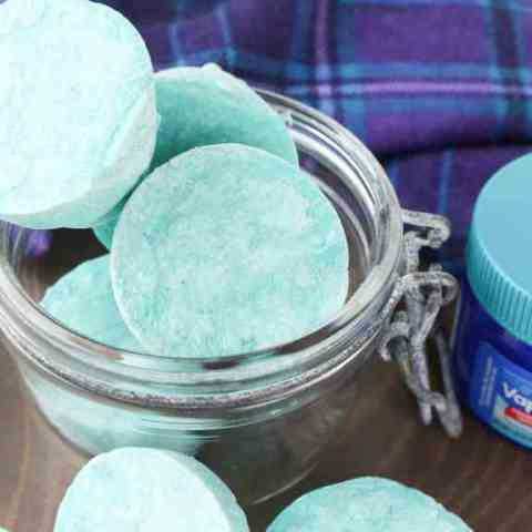 DIY Vapor Rub Shower Melts