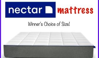 Nectar Mattress Giveaway — Ends 4/8