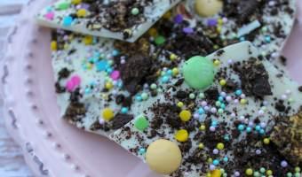 Oreo Easter Bark #Easter #Dessert #Oreo
