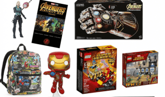 Avengers: Infinity War Prize Pack Giveaway (Ends 5/4)