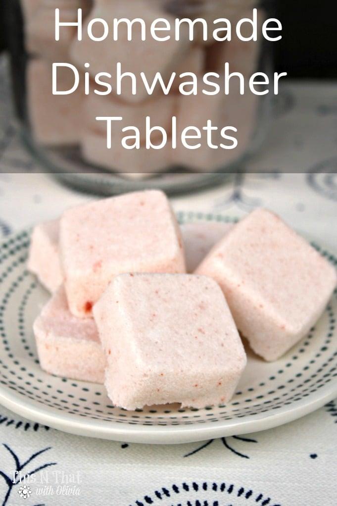 DIY Essential Oils Dishwasher Tabs