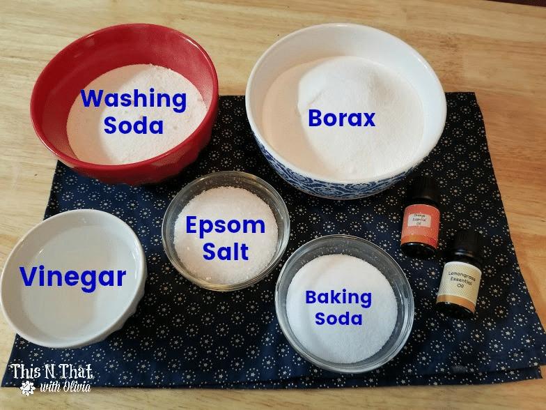 DIY Essential Oil Dishwasher Tabs