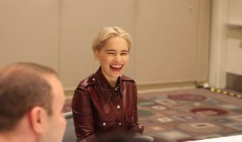 "Interview with Emilia Clarke ""Qi'Ra"" #HanSoloEvent #HanSolo #EmiliaClarke"