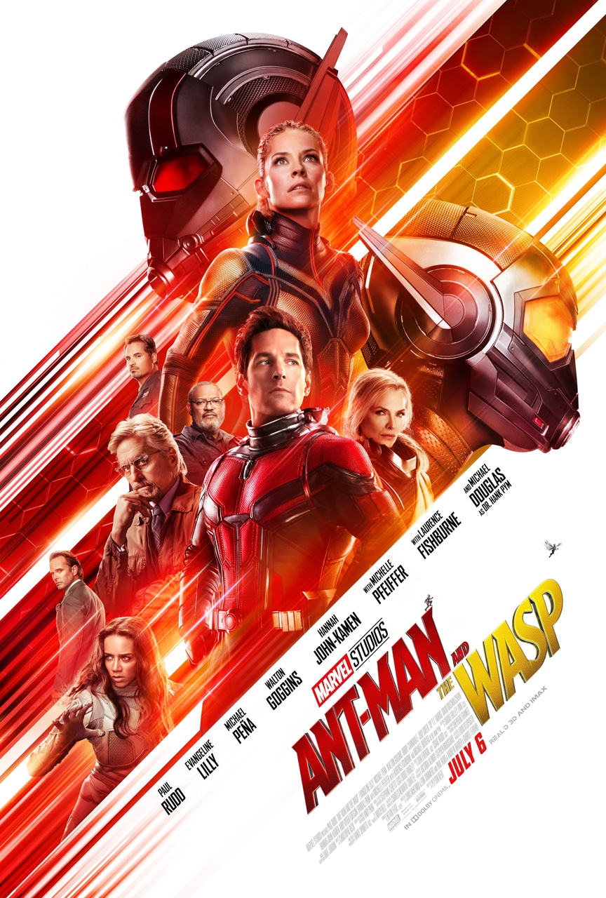 Ant-Man And The Wasp: NEW Poster + Trailer! #AntmanAndTheWasp