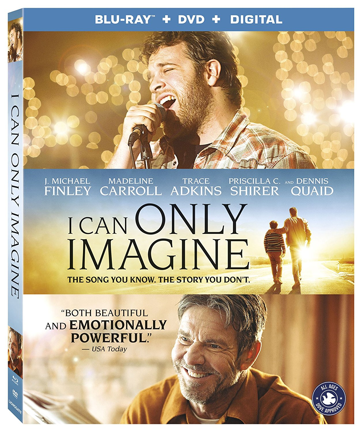 I Can Only Imagine Available in Blu-ray Combo Pack + Giveaway! #ICanOnlyImagine #FlyBy