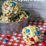 Patriotic Popcorn Balls
