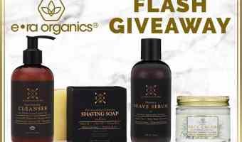 Win an ERA Organics Men's Face Care Package! (Ends 8/9)