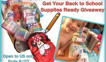 Back to School Supplies Prize Pack Giveaway (Ends 8/27)