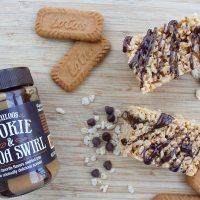 Cookie Butter Lover's Rice Krispie Treats