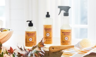 FREE Mrs. Meyer's Fall Scent Pack from Grove Collaborative!! #Fall #Pumpkin