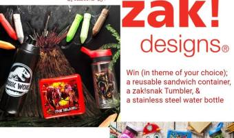 Zak Designs Back to School Prize Package Giveaway! (Ends 9/14)