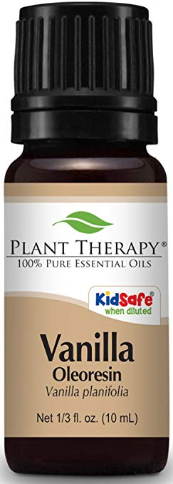 Plant Therapy Vanilla Oleoresin 10 ml Essential Oil Blend