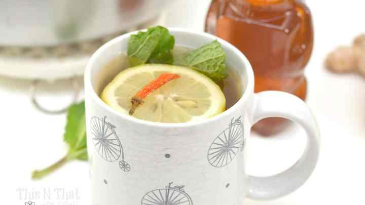 Cold Fighting Mint Green Tea