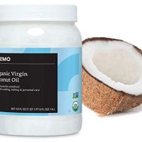 Amazon Brand - Solimo Organic Virgin Coconut Oil, Unrefined, 54 ounce