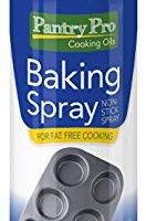 Pantry Pro Baking Cooking Spray, 8 Fluid Ounce (Pack of 4)