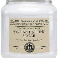 India Tree Fondant & Icing Sugar, 2 lb (Pack of 2)