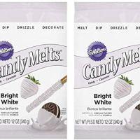 Wilton 1911-1300 Candy Melts, Bright White(2pk)