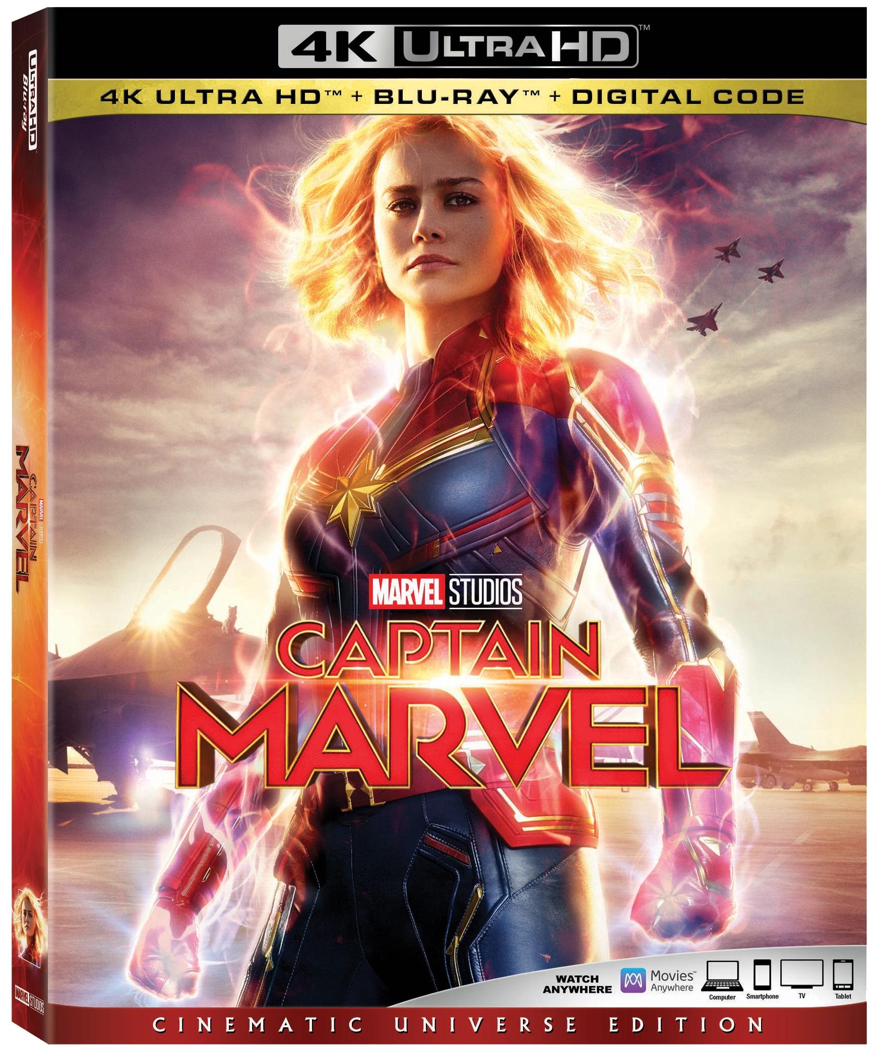 Marvel Studios' Captain Marvel In Home Release