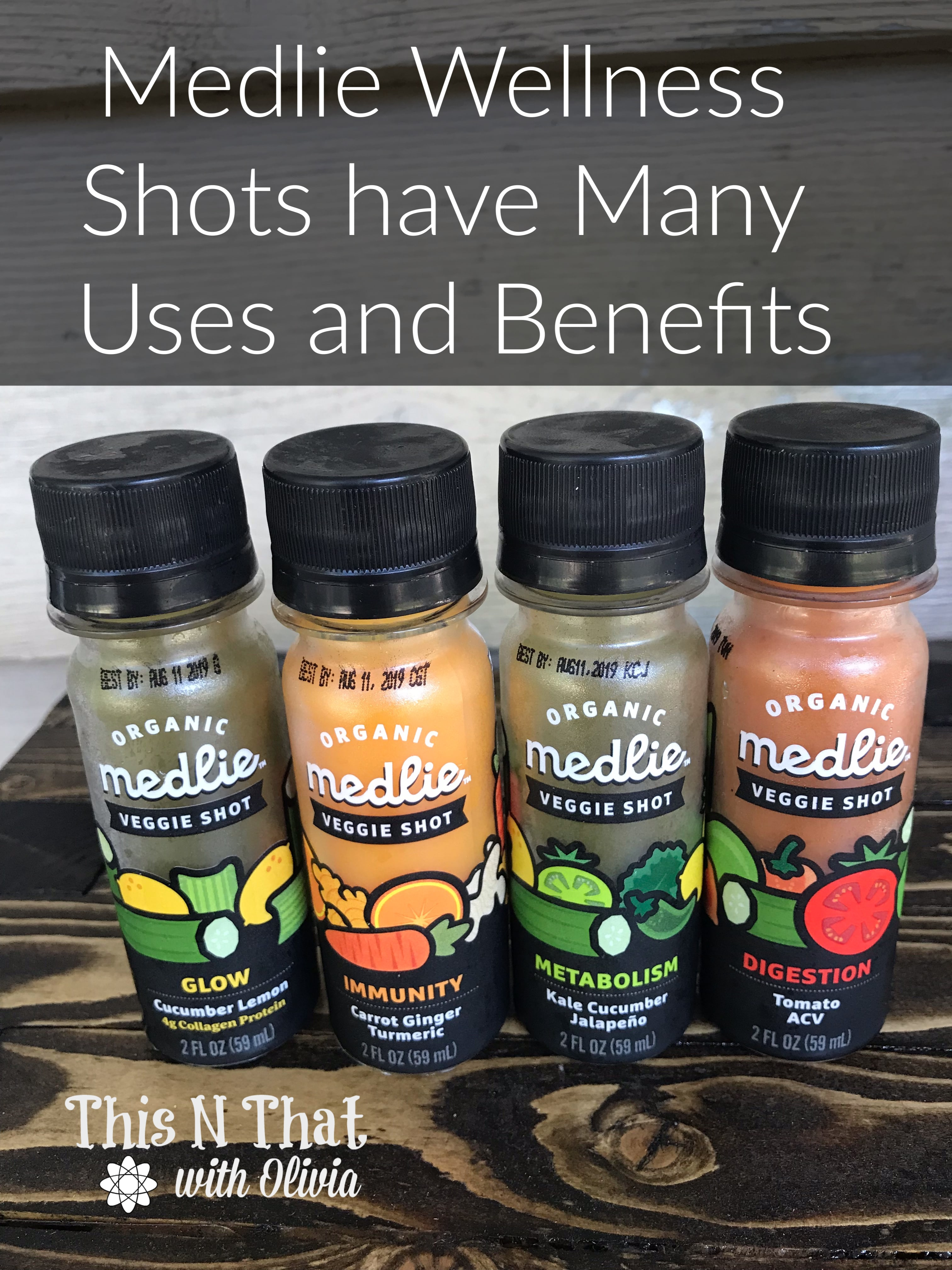 Medlie Vegetable Shots for Daily Nutritional Needs!