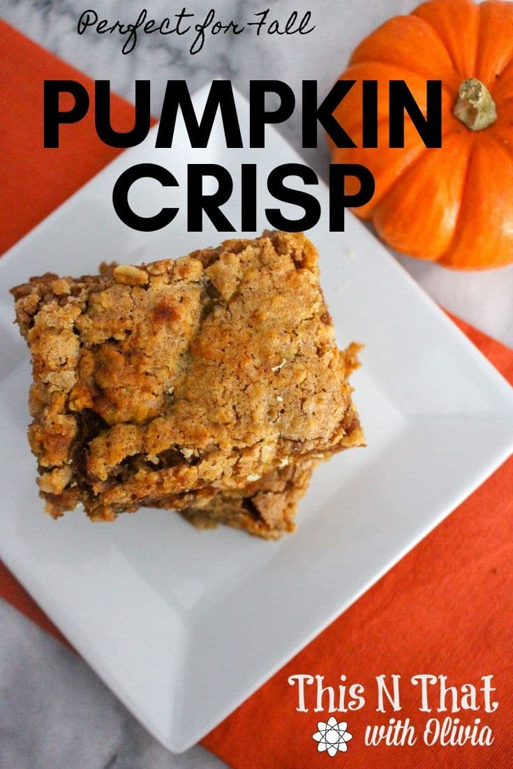 Delicious Pumpkin Crisp!