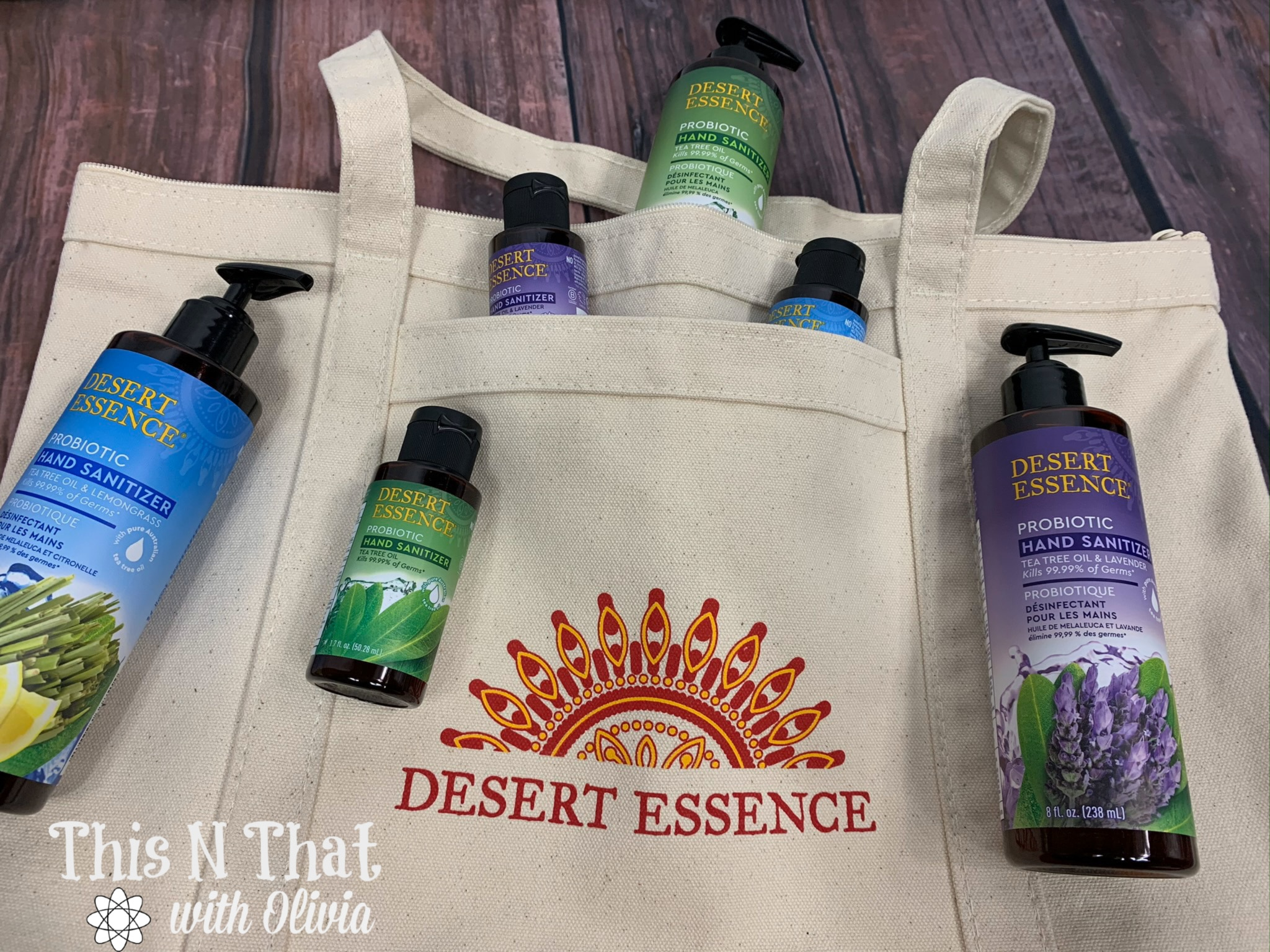 Keep Germs Away with Desert Essence Probiotic Hand Sanitizer