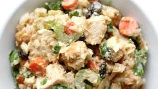 Easy Gluten-Free Paleo Tahini Chicken Salad (Allergy-Free)