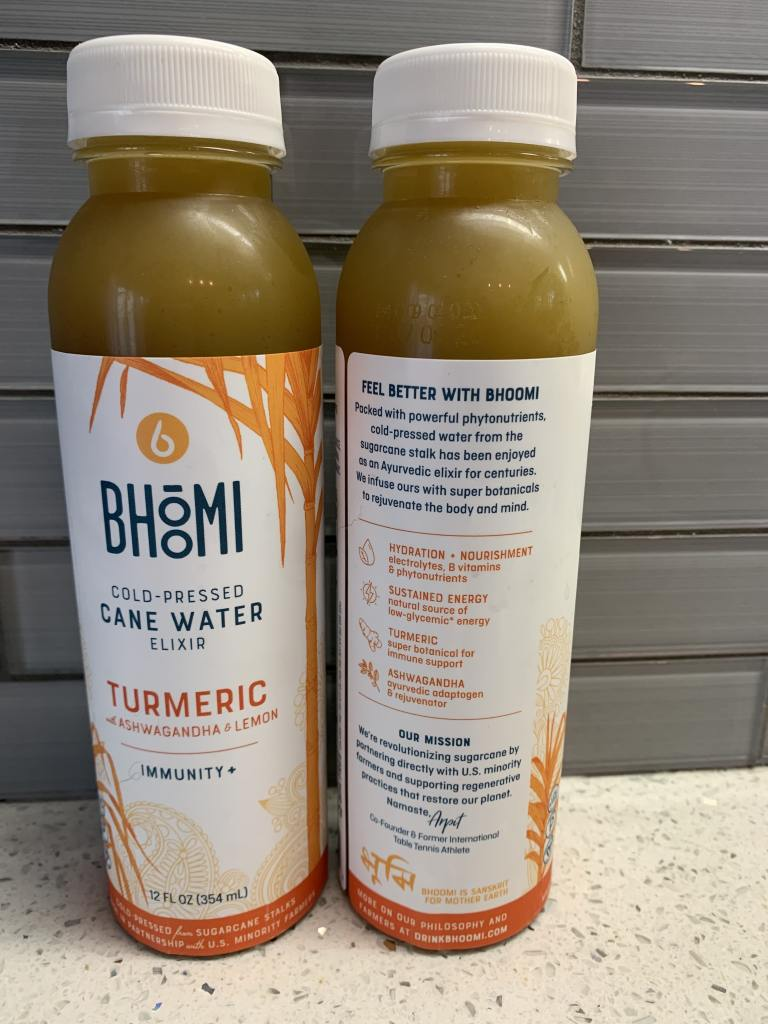 Bhoomi Cold-Pressed Cane Water Elixir!