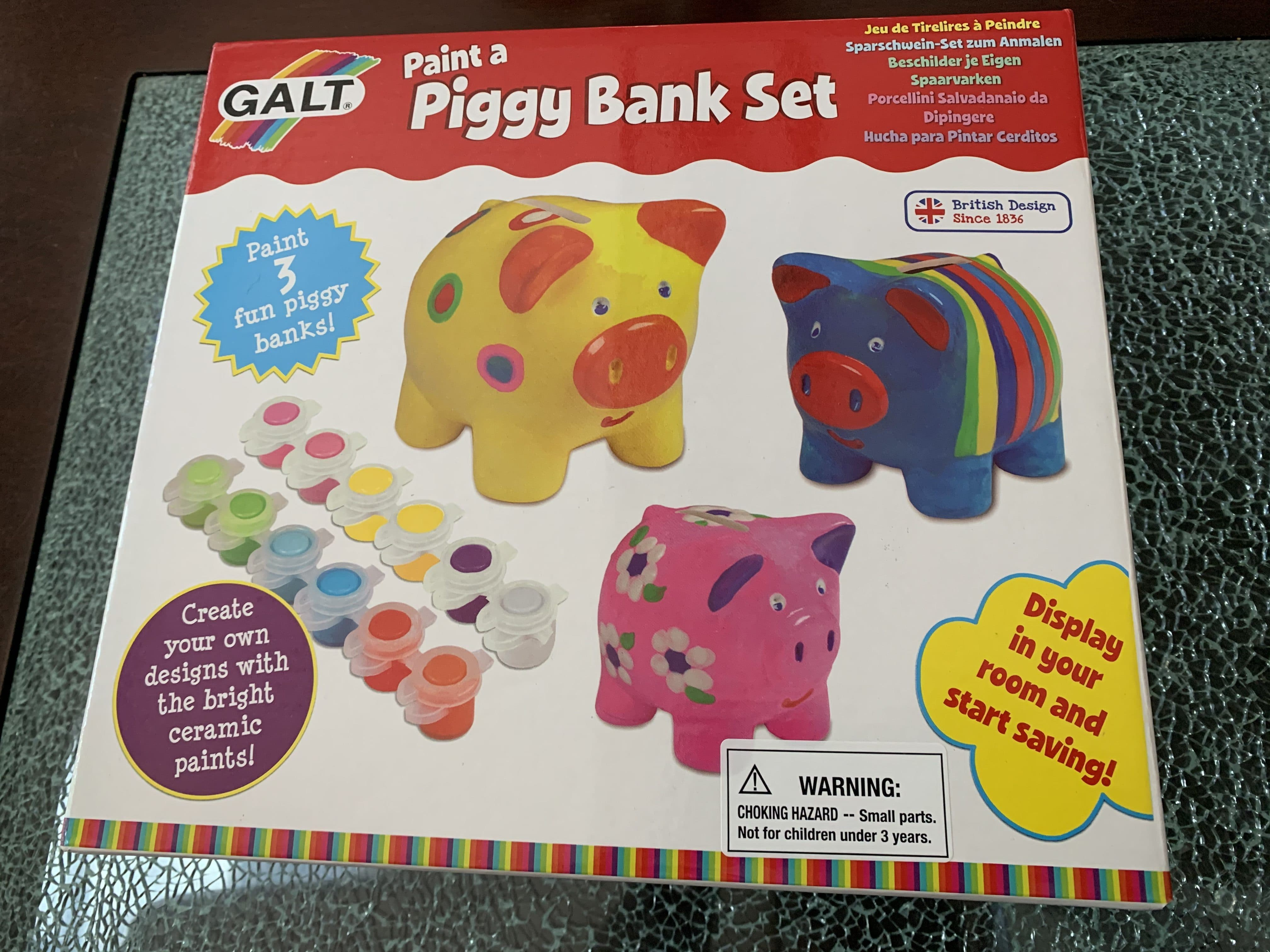 Enter to win a piggy bank set