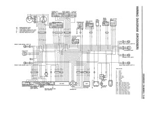 Wiring diagram for the DR350 SE (1994 and later models)  Suzuki Parts  Suzuki DR350  Topics