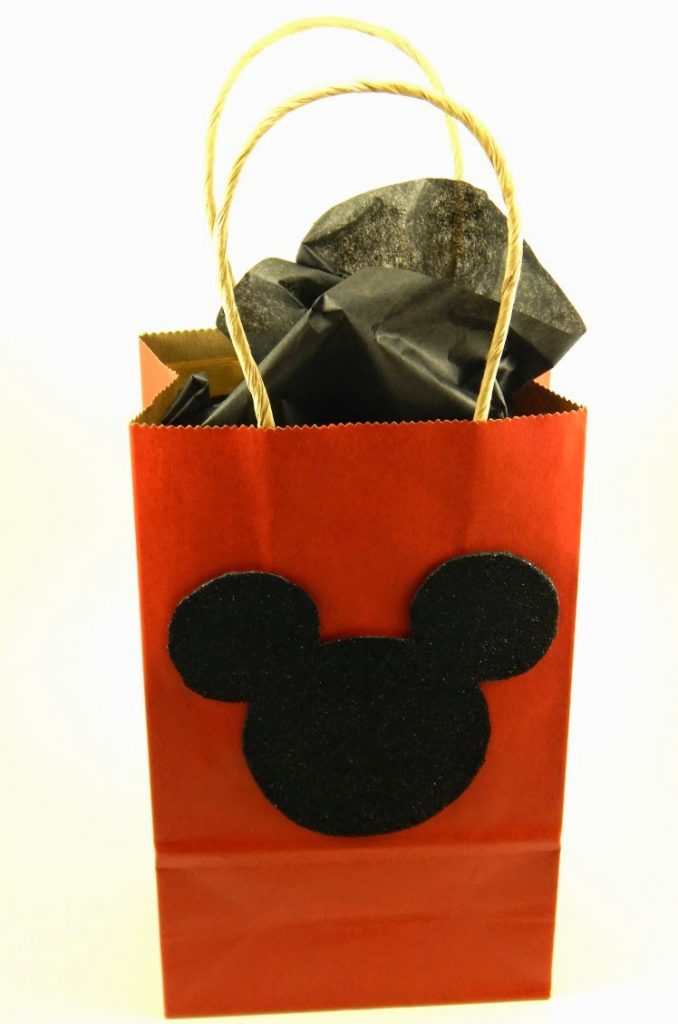 Diy Mickey And Minnie Mouse Gift Bags This Ole Mom