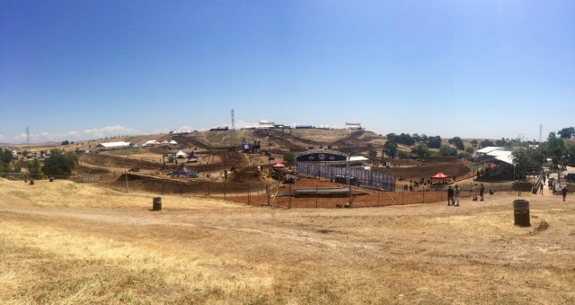 Hangtown Motocross Track From The Campground