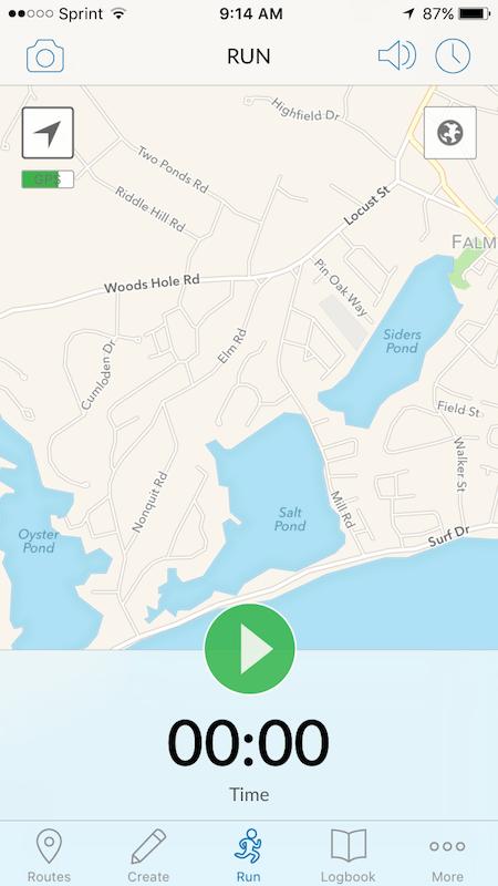 RunGo App Map