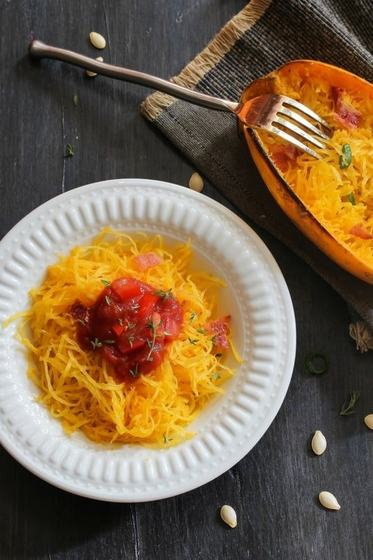 Spaghetti Squash - an Easy Healthy Swap