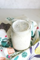 This Creamy Vegan Ranch is everything you love about ranch with none of the dairy | VEGAN + GF | ThisSavoryVegan.com