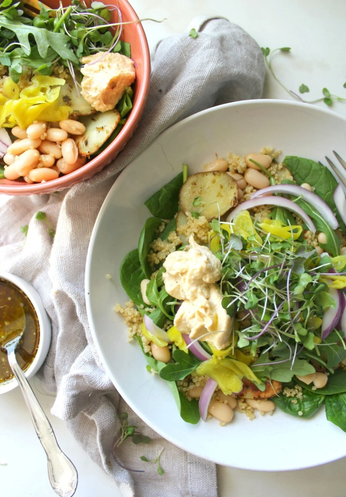 Vegan Greek Buddha Bowl | Vegan + GF | ThisSavoryVegan.com