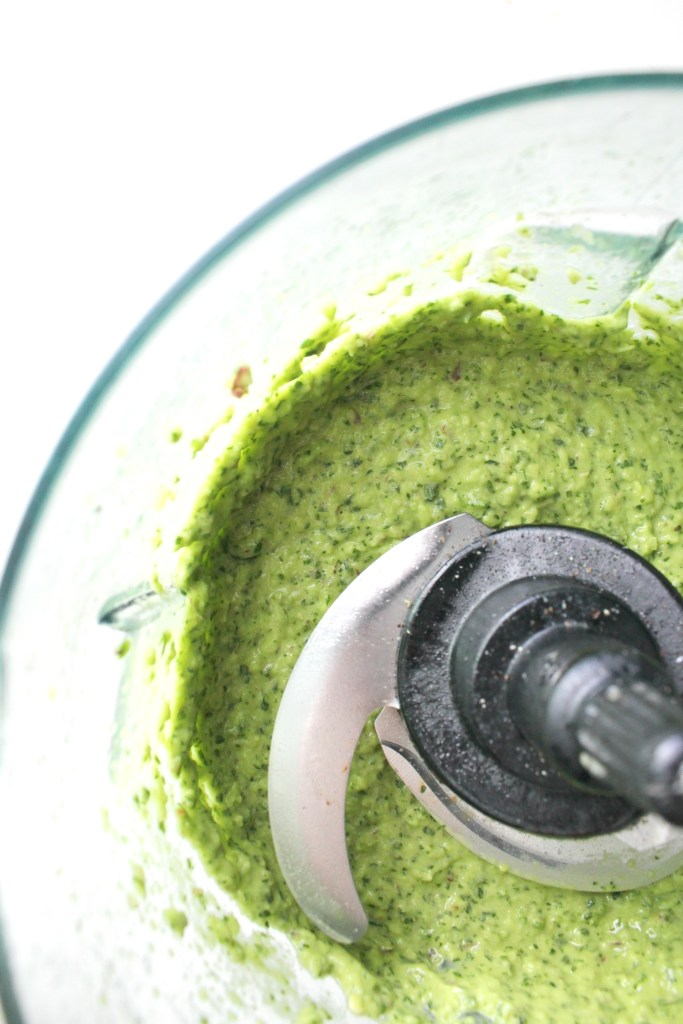 The perfect marinade, dressing or dip - thisCreamy Dreamy Green Sauce is packed full of fresh herbs, avocado and a slight kick fromjalapeño. Ready in 5 minutes | ThisSavoryVegan.com #sauce #dressing #vegan