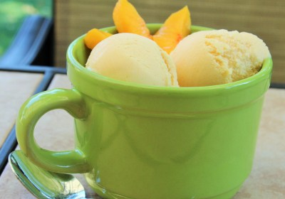 Perfect Peach Ice Cream