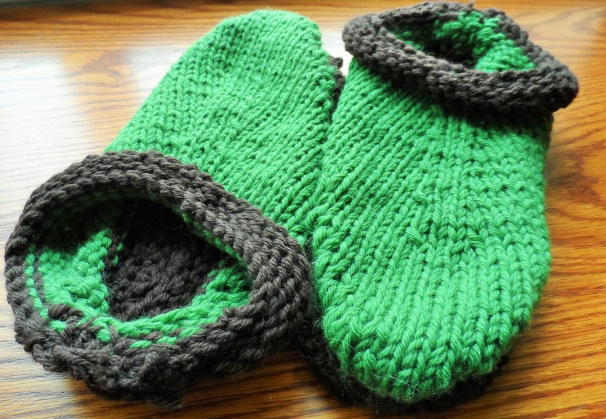 Felting 101 How To Felt Knitted Slippers This Scattered Life