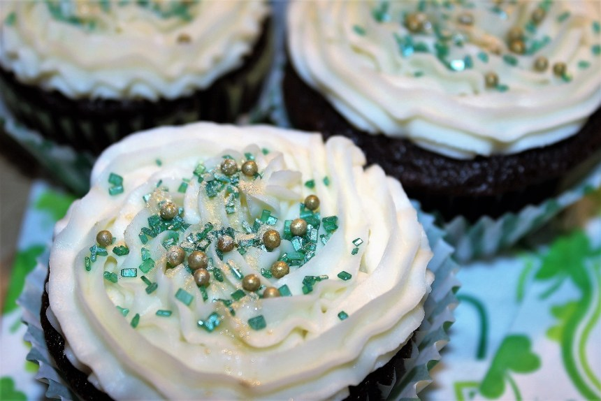 Luck O The Irish Cupcakes