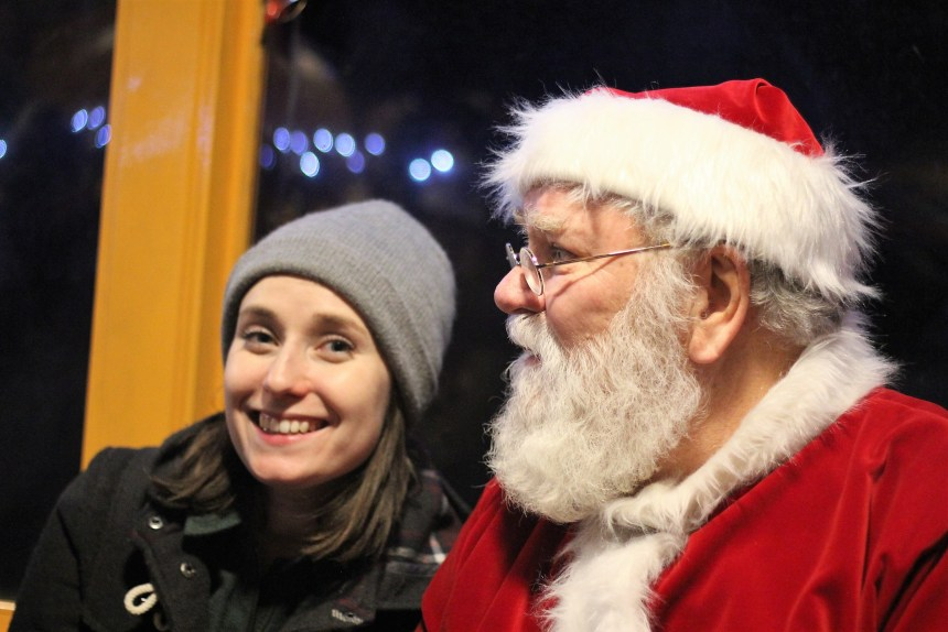 Santa at the Georgetown Loop Railroad
