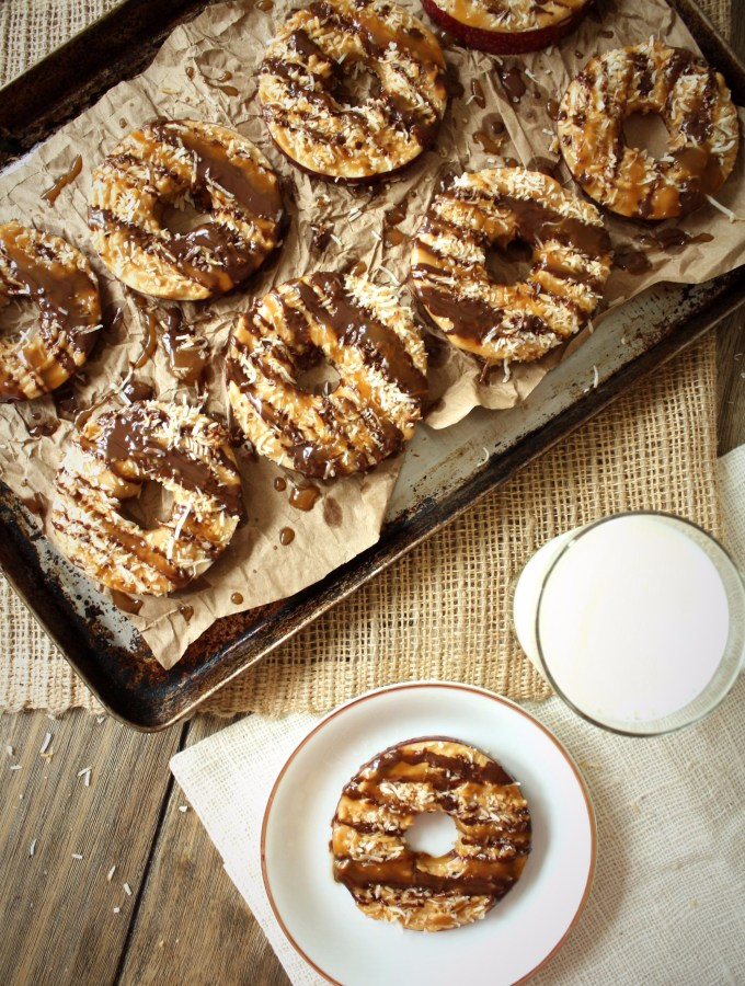 apple samoa donuts
