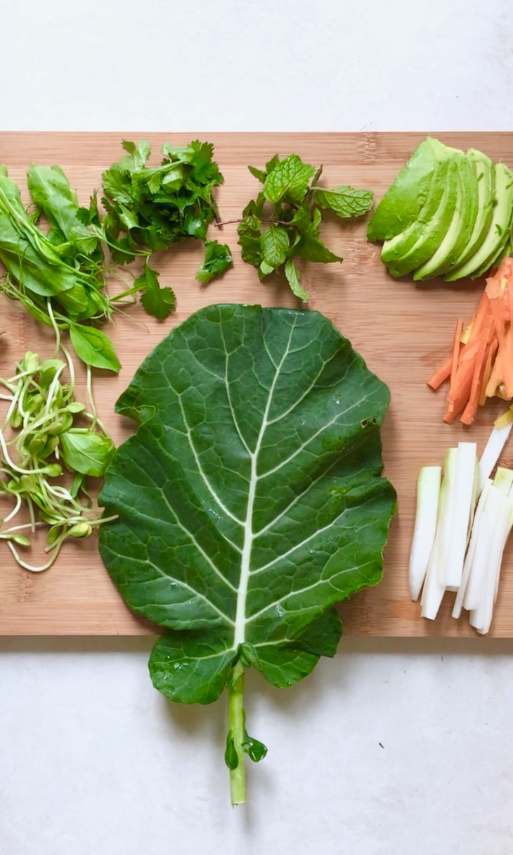 collard wrap ingredients