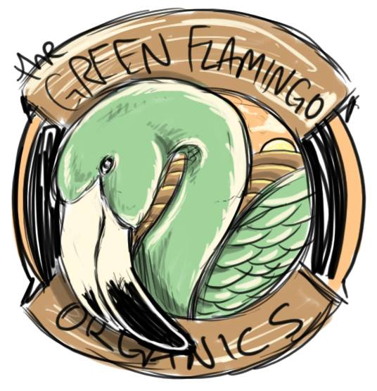 Green Flamingo Organics logo
