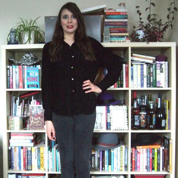 vintage shirt, vintage velvet, velvet shirt, vintage velvet shirt, marks and spencer, M&S