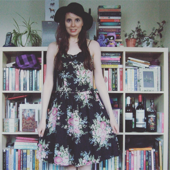 warehouse floral dress, floral dress