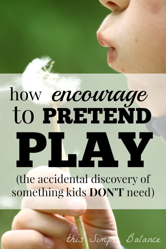 how to get kids to play pretend, encouraging pretend play, should i buy a play kitchen, playkitchen