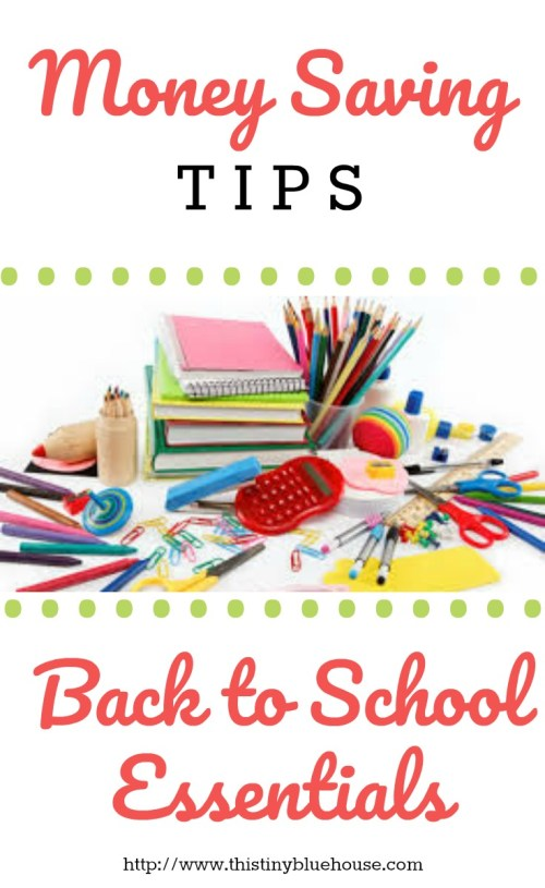 Money Saving Tips For Back to School Shopping. Frugal Living | Frugal Living Tips | Back to school | Back to school shopping | School Supply Shopping | Back to school budgeting tips | Money Saving techniques